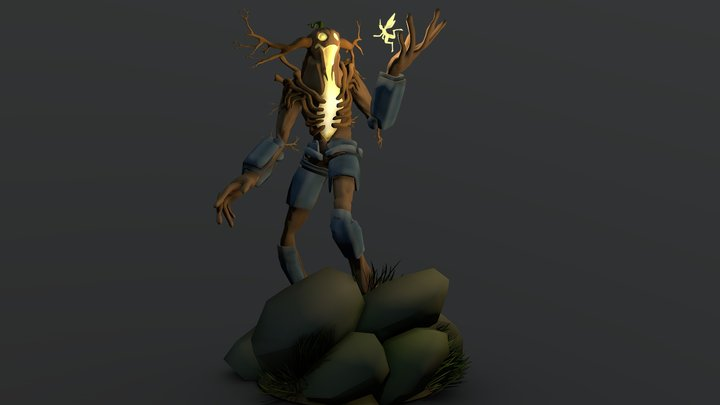 Hallowen Creature 3D Model