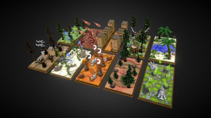 Practice Maps 3D Model