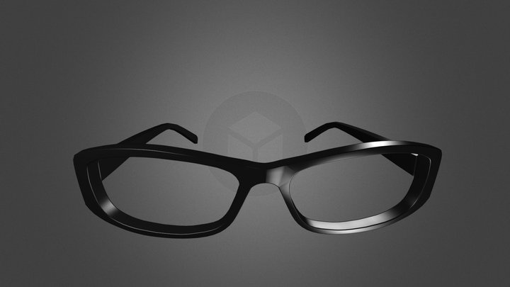 Womens Glasses 3D Model