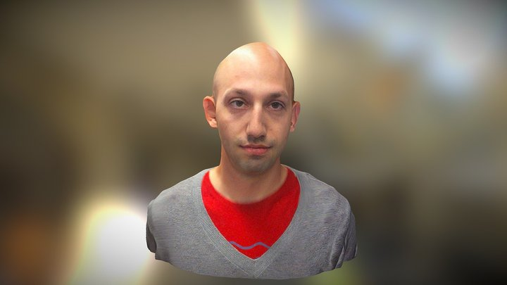 Ben Popper from The Verge 3D Model