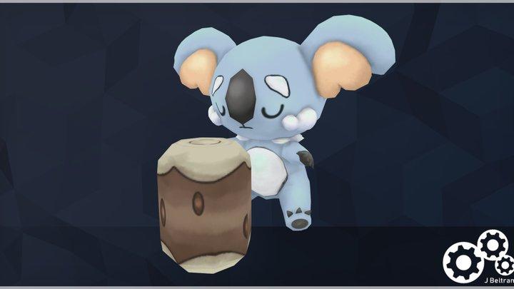 Pokemon FanArt - Komala 3D Model