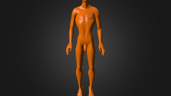 Bronc 3D Model