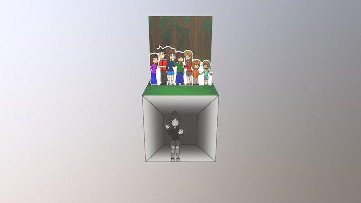The Cube 3D Model