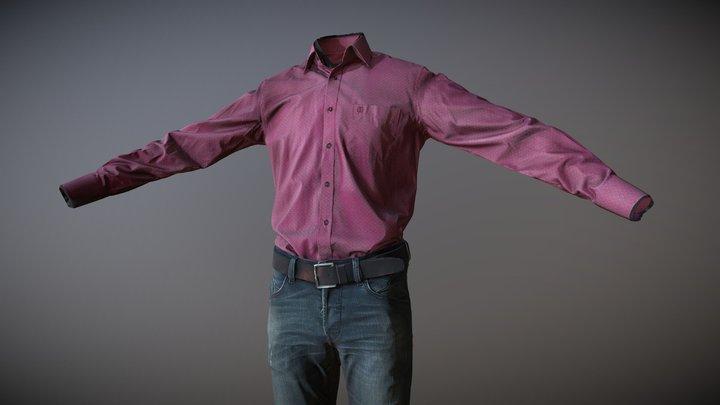 Men's Clothing_03 (3D scan) 3D Model