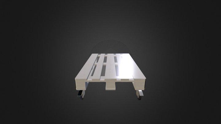 Pallet table (WIP) 3D Model