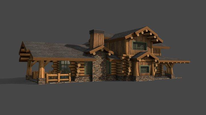 Проект жилого дома 2.0 (Сергиев Посад) 3D Model