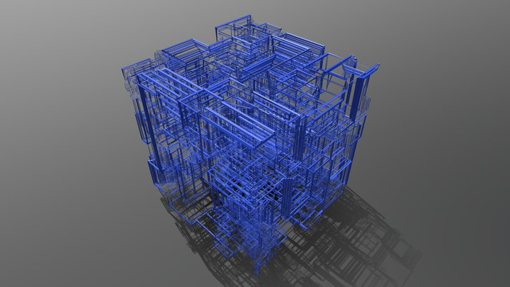 Abstract patterns 3D Model