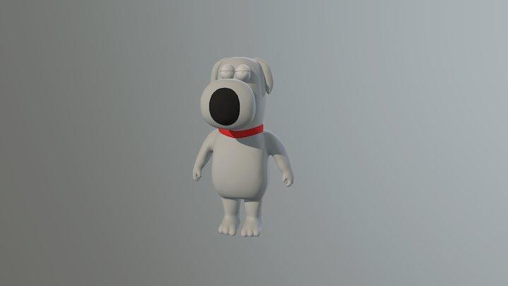 Brian Griffin 3D Model
