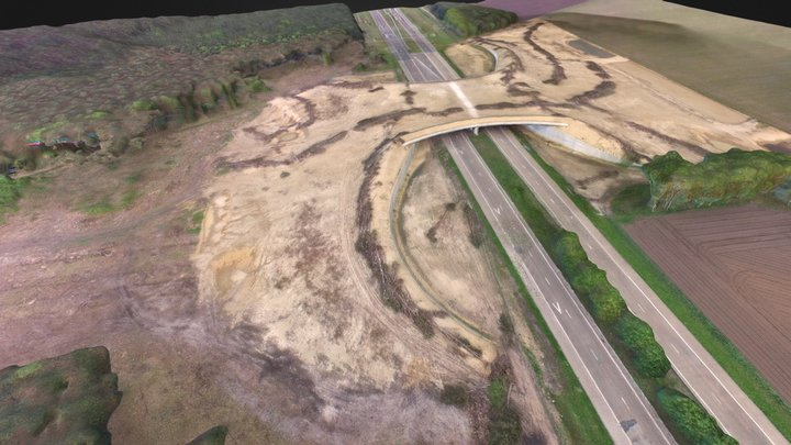 Ecoduct Kempengrens 3D Model