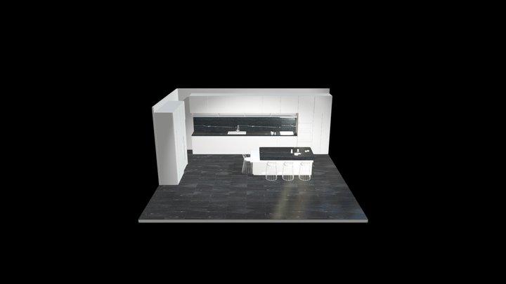 """Dubino """"al contro""""_Lucido 60x60 cm 3D Model"""