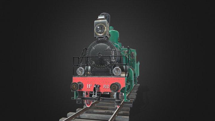 Nv steam locomotive 3D Model