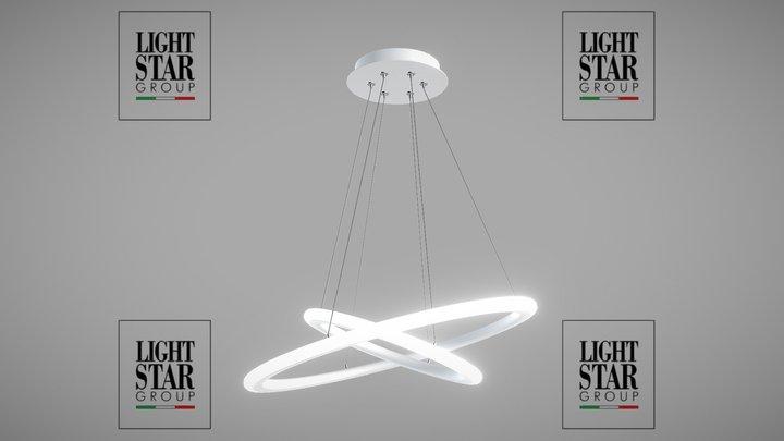 748062 Saturno Lightstar pendant lamp 3D Model