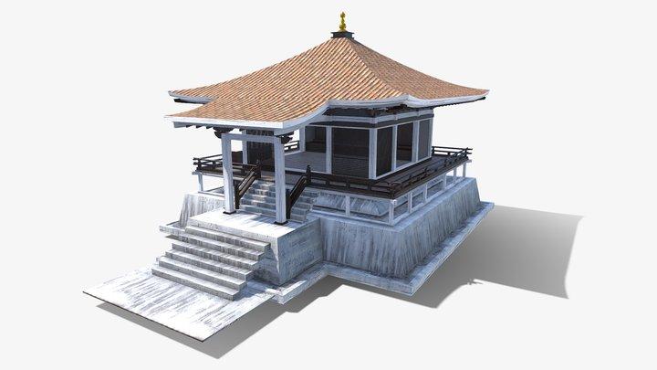 Asian House 3D Model