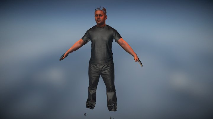 Dan 3D Scan Full Body 3D Model