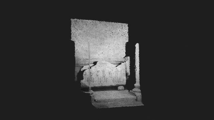 Palmyra. Funereal sculpture | Point Cloud 3D Model