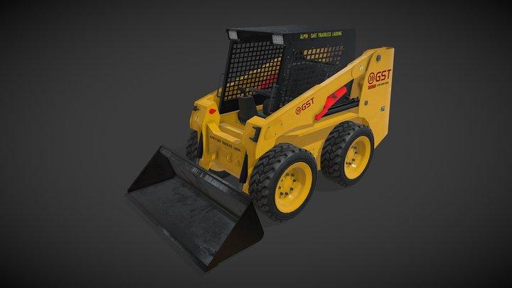Alpin Mini Loader 3D Model