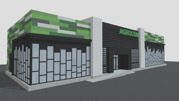 Agrocom 3D Model