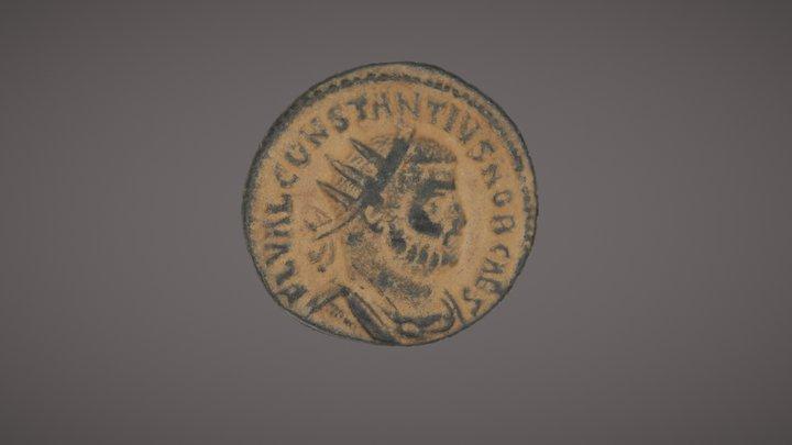 Moneda Romana 3D Model
