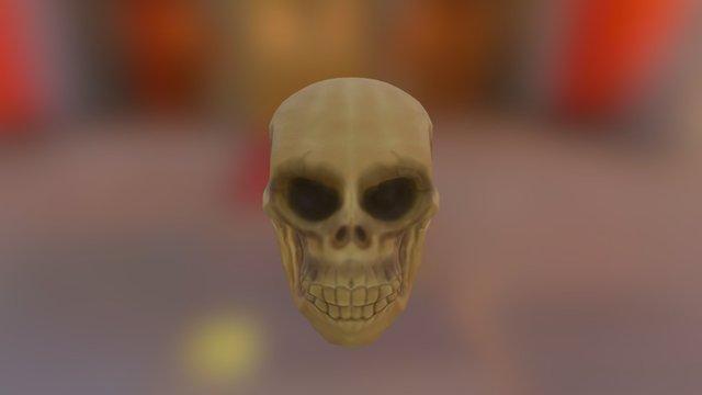 Skull Uv Low 3D Model
