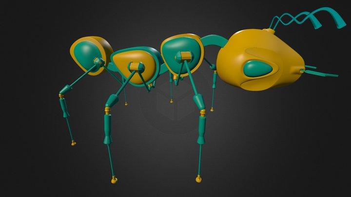 Tech Ant 3D Model