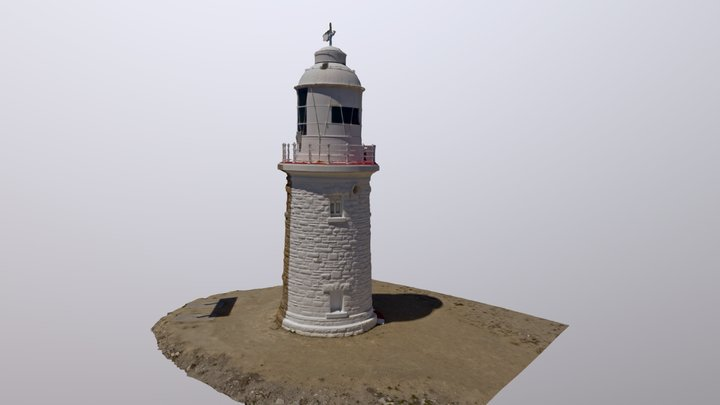 DIWA Woodman Point Lighthouse 3D Model