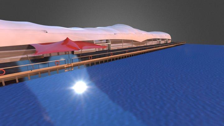 Dockside Pavilion 3D Model