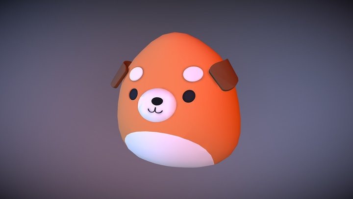 Squishmallow Test 3D Model