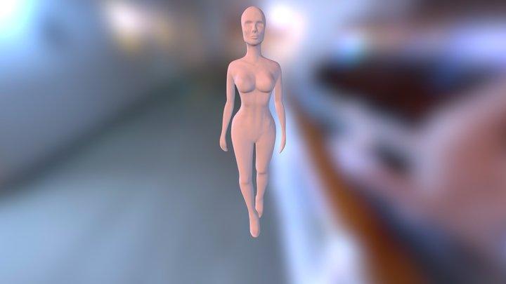 The Girl 3D Model