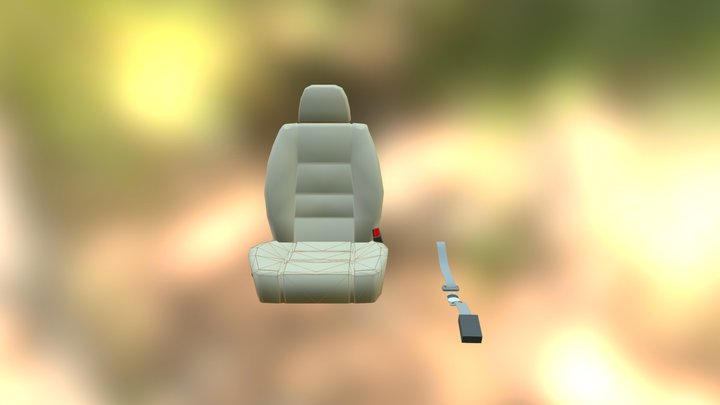 seatbelt buddy 3D Model