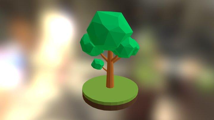 Tree Low Poly #01 3D Model