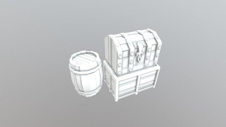 Treasure Collection 3D Model