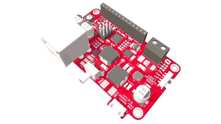Charge 'n Boost Dual V2 3D Model