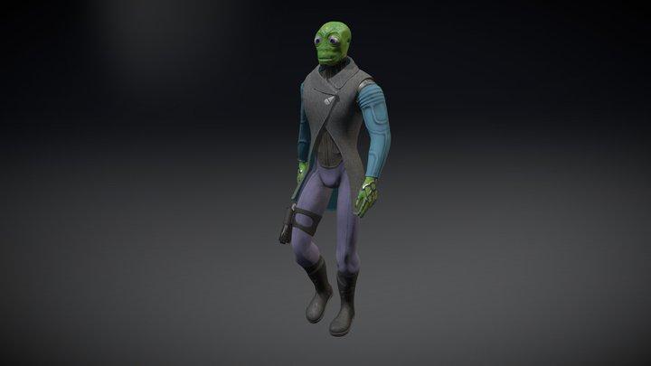 Cello - Avatar 3D Model