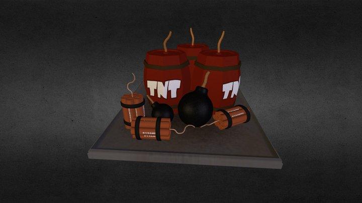 Bombs Galore! 3D Model