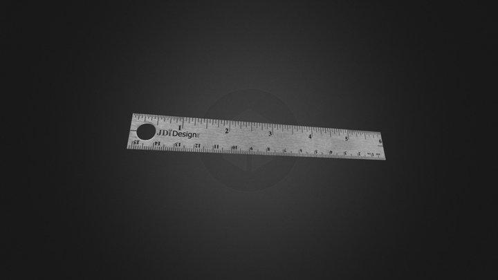 JDi-Ruler 3D Model