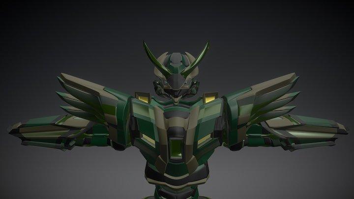 MechaArmor 3D Model