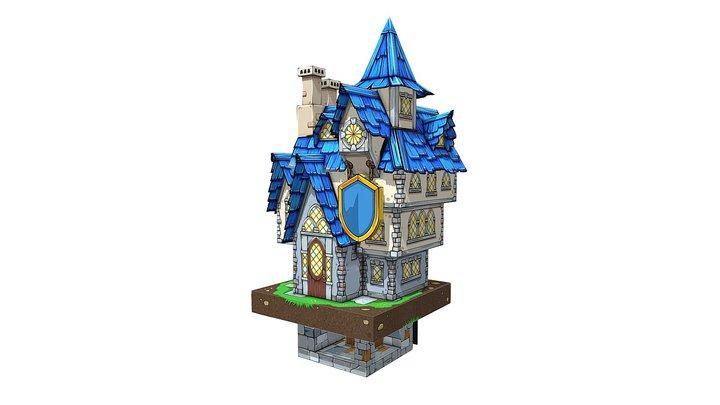Rose House 3D Model