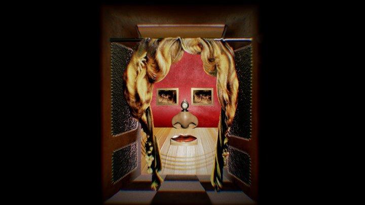 Salvador Dali  - Mae West 3D Model