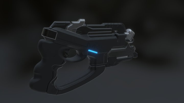 M5-Phalanx (Mass Effect 2) WIP 3D Model