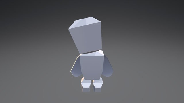 """""""Yay I Can Move"""" 3D Model"""