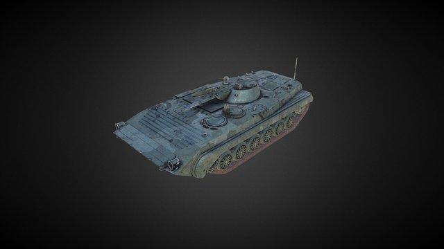 Russian Tank BMP-1 3D Model