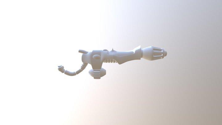 Eldar Guardian Flamer5 3D Model