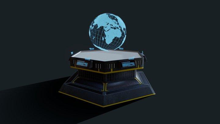 Holo-Table 3D Model