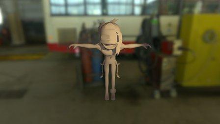 Char Mummy Edit 3D Model