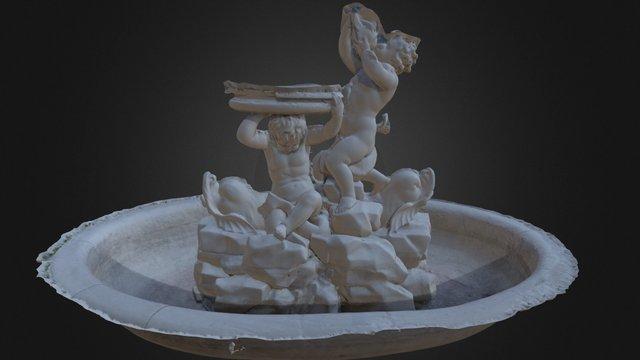 Fountain at Belvedere San Leuco, Italy 3D Model