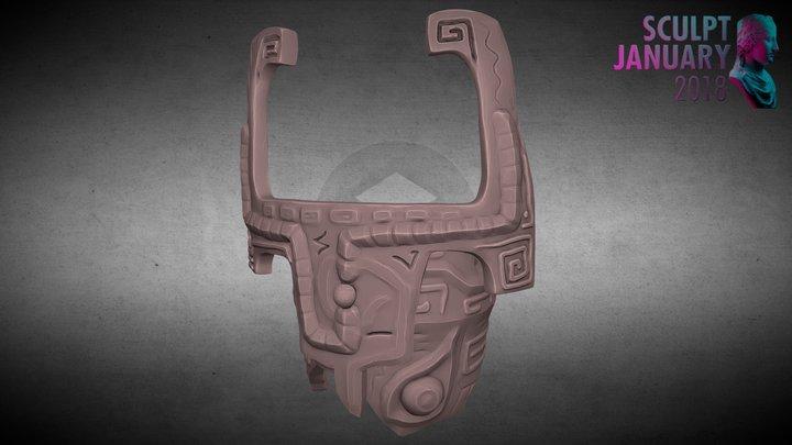 SJ18 #016 - Helmet 3D Model