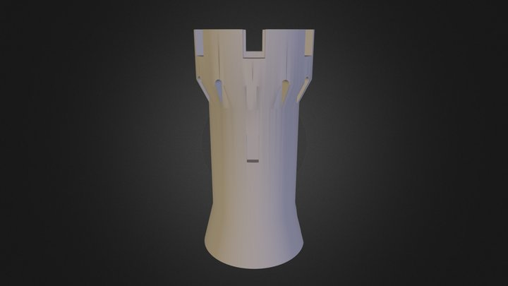 Tower Round 3D Model