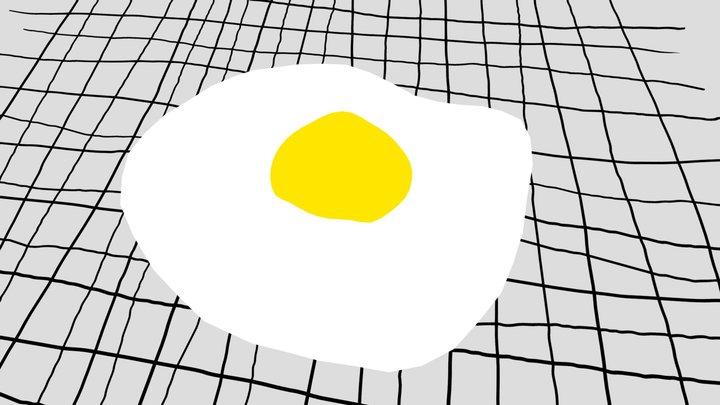 Omelet 3D Model