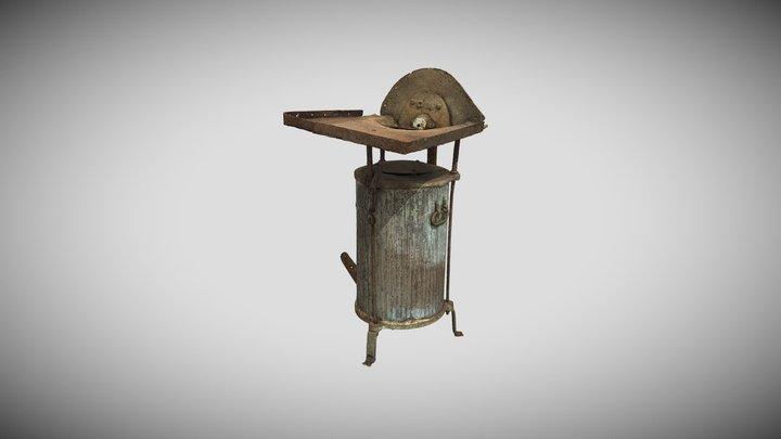 Karo laiko kalvė 3D Model