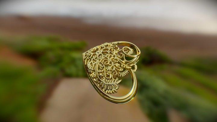 Elven Heart 3D Model